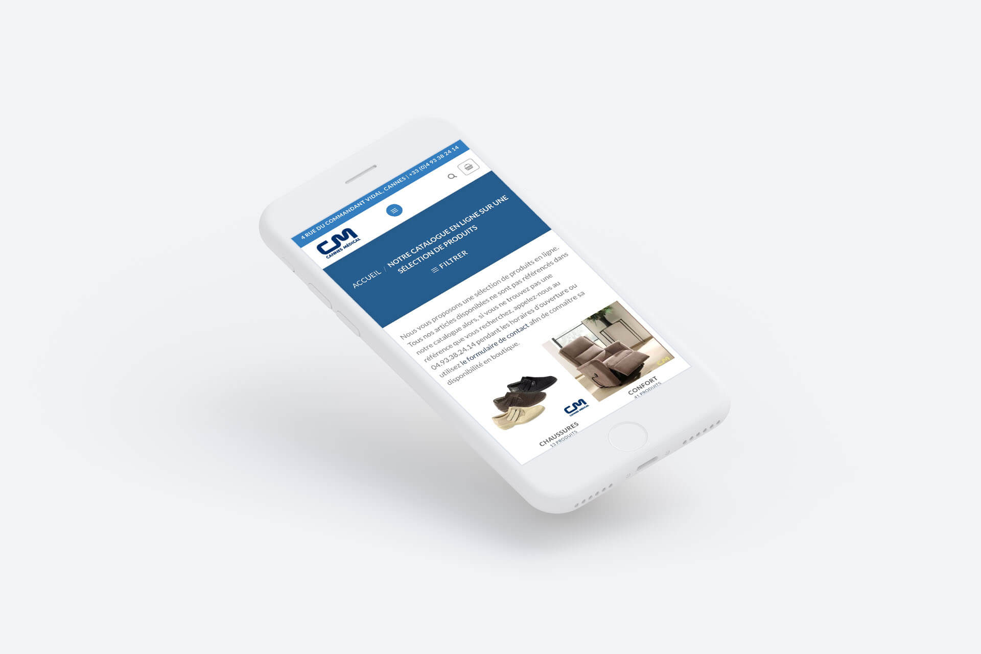 création site e-commerce cannes