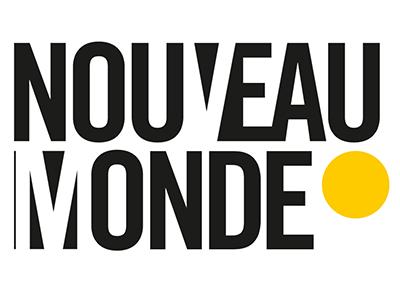 logo nouveau monde lyon agence de communication