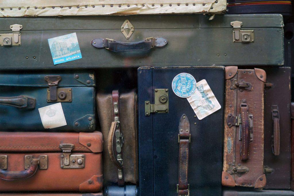 bagages pour déménager